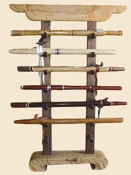 Native American Flute Display Rack