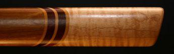 Curly Cherry and Curly Maple Native American Style Flute