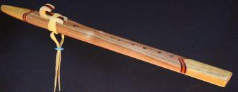 Canarywood and yellowheart Love Flute