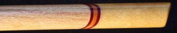 Canarywood and yellowheart Love Flute boar