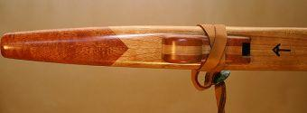 Cherry and Santos Mahogany Love Flute