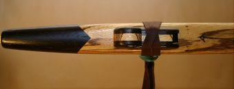 Zebrawood and Wenge Love Flute