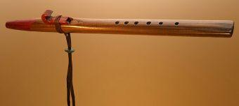 Walnut and Purple Heart Love Flute